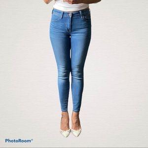 Lucky Brand Ava Super Skinny Jeans (Size 27)
